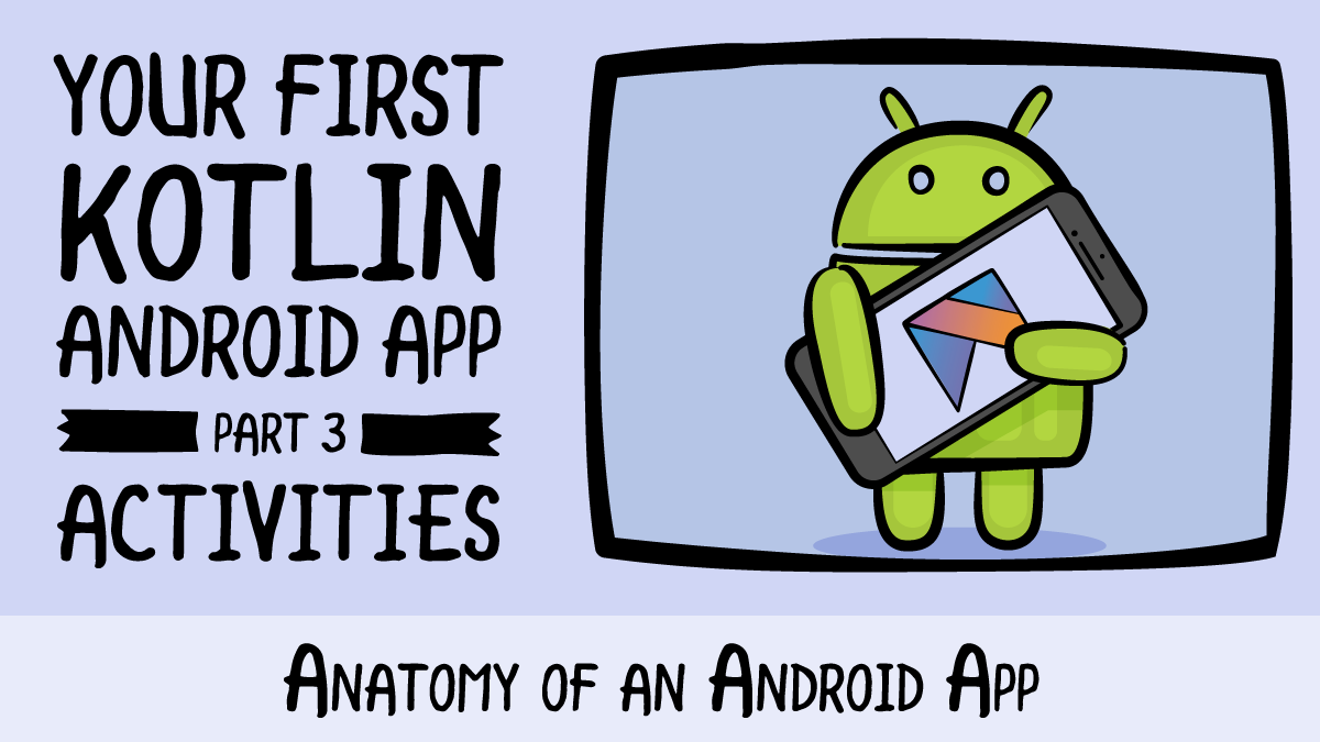 Your First Kotlin Android App Anatomy Of An Android App
