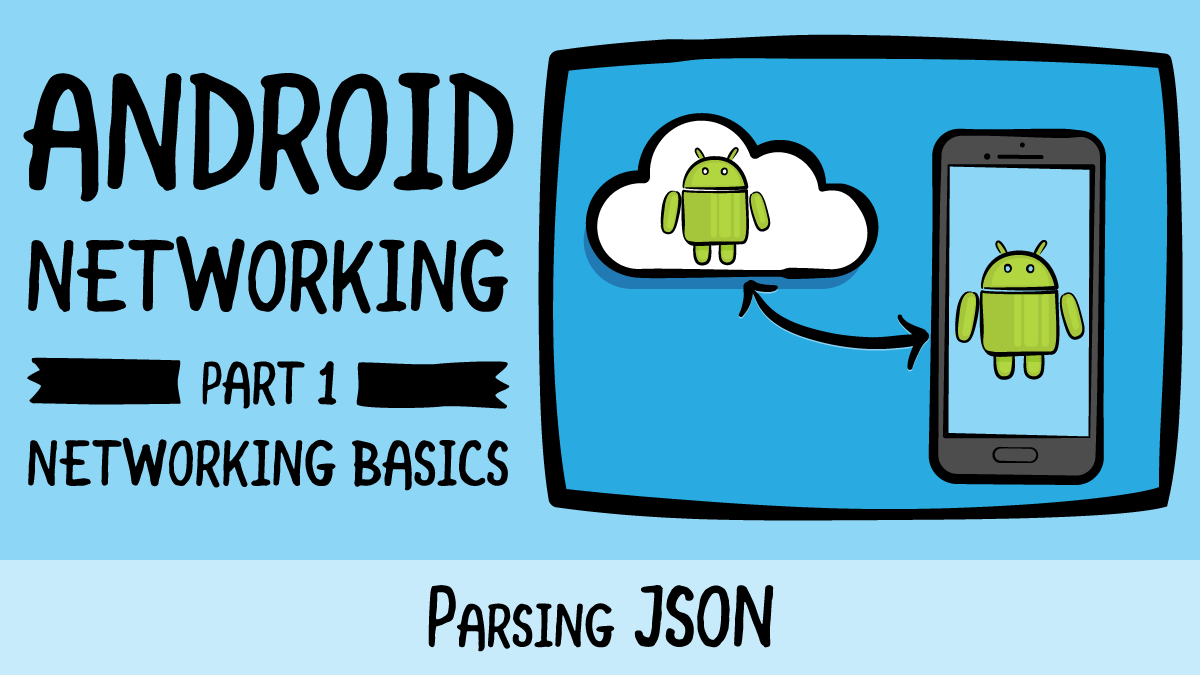 Android Networking · Parsing JSON | raywenderlich com