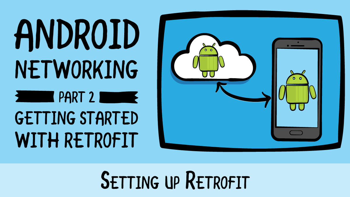 Android Networking · Setting up Retrofit | raywenderlich com