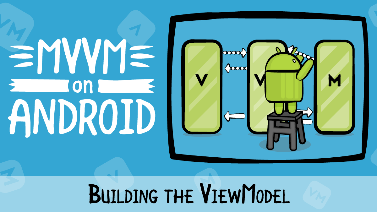 MVVM on Android · Building the ViewModel | raywenderlich com