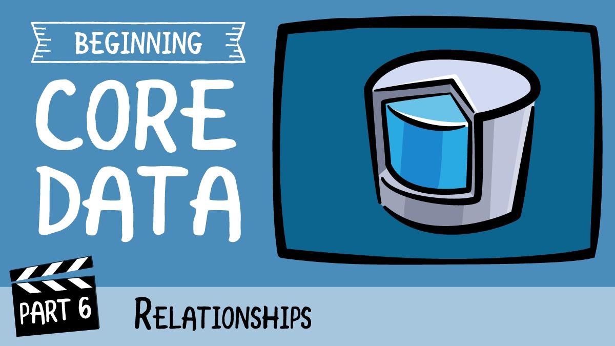 ios core data delete relationship facebook
